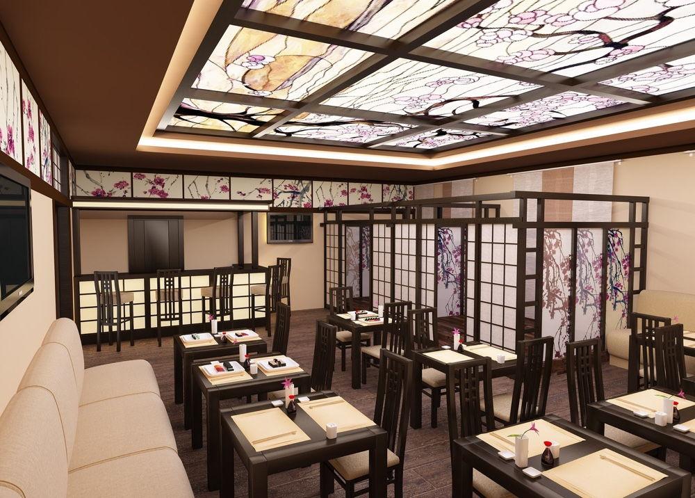 Интерьер суши-бара