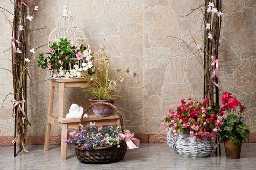 Цветы в интерьере дома