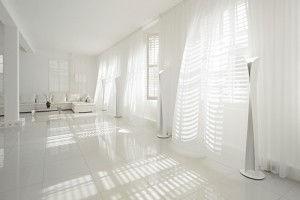 Квартира с интерьером белого цвета