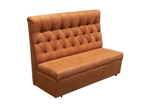 Модульный диван в каретной стяжке