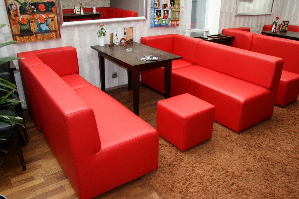 Модульные диваны и пуфы для бара