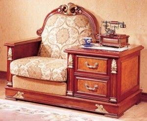 Телефонный диван для прихожей
