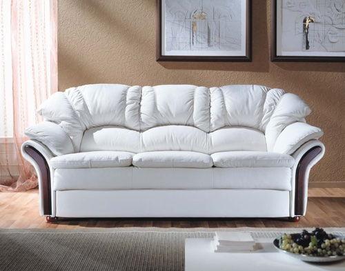 Сияющий от чистоты диван в гостиной