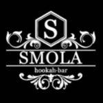 Логотип кальяна-бара «SMOLA»