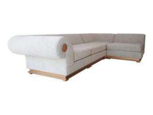 Угловой диван для дома, отеля или гостиницы